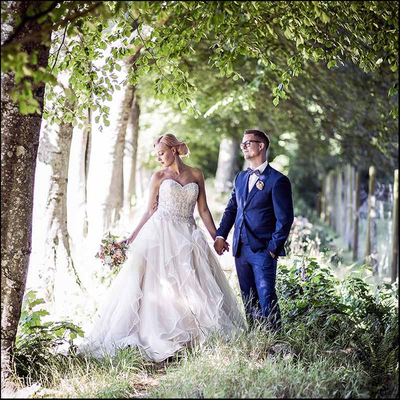 bryllupsfotografer Silkeborg
