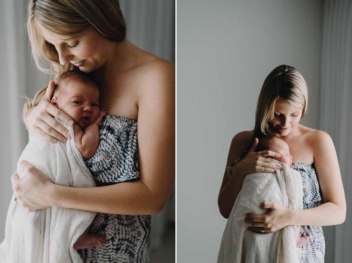 Få taget sjove og flotte billeder af dig og din baby