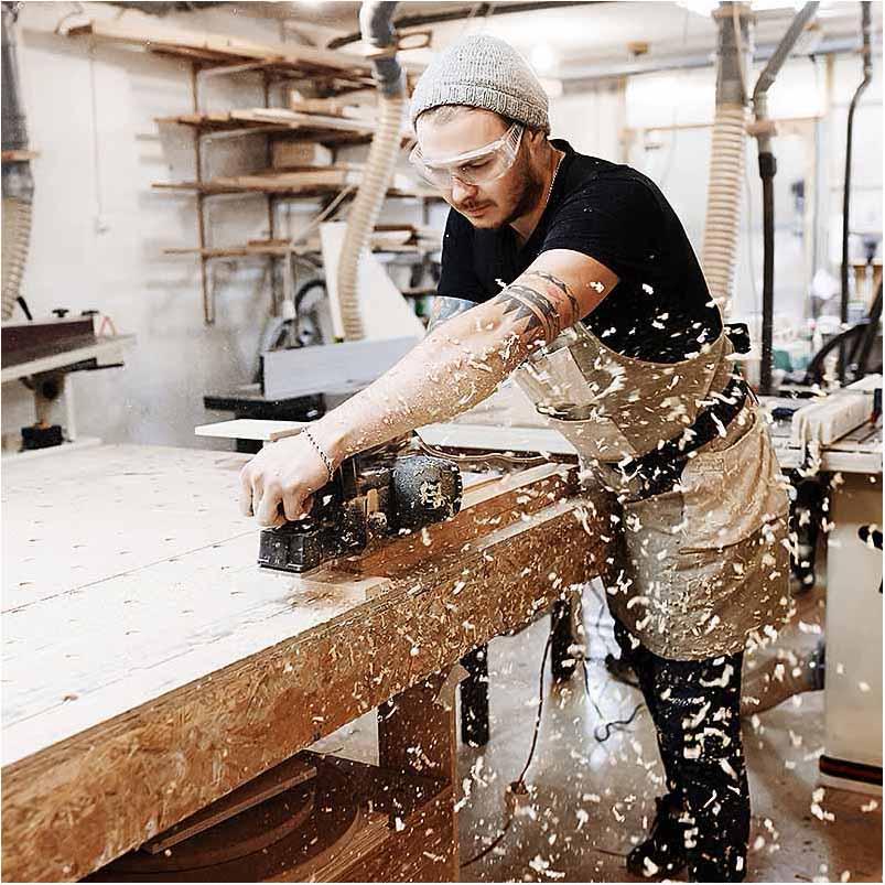 firma foto ved snedker Silkeborg