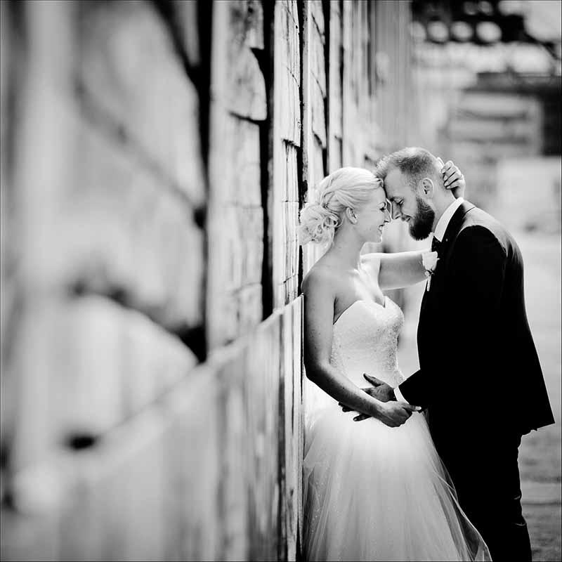 fotografering af bryllup i Silkeborg